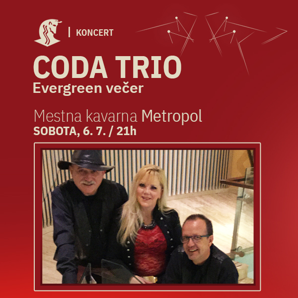 CODA trio - evergreen večer