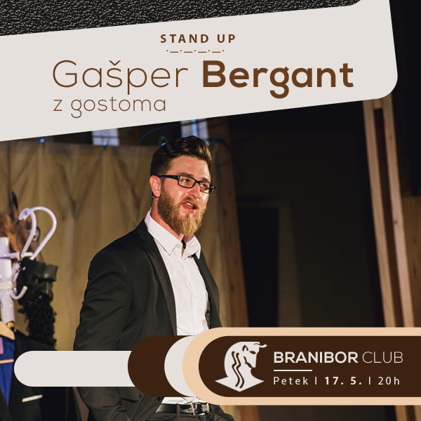 Stand up - Gašper Bergant z gostoma