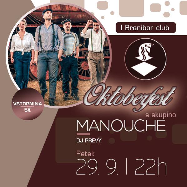 Oktoberfest s skupino Manouche