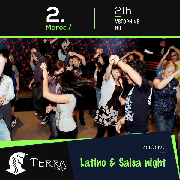 Latino & salsa night