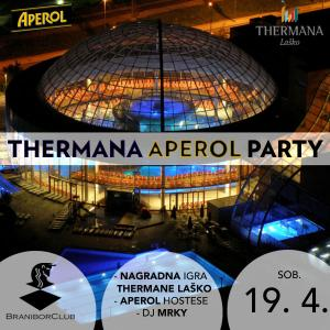 Thermana aperol party