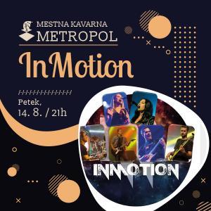 InMotion - odpade zaradi dežja!