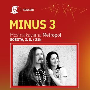 Akustični večer z duetom Minus 3