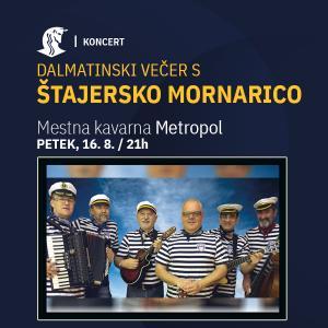 Dalmatinski večer s Štajersko mornarica