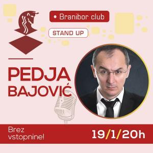 Pedja Bajović stand up show