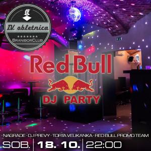 Red Bull Dj party