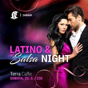 Latino & salsa night - PRESTAVLJENO
