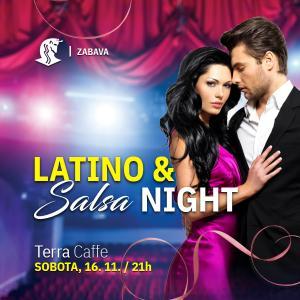 Latino & salsa night