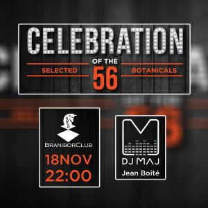 Celebration of the selected 56 botanicals