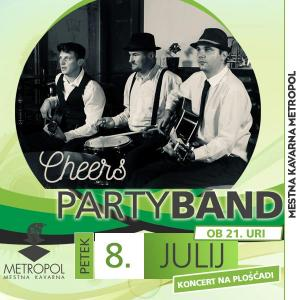 Cheers party band