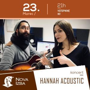 Hannah acoustic