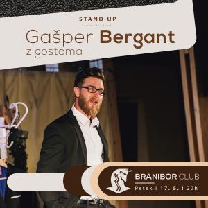 Gašper Bergant z gostoma - RAZPRODANO