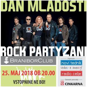 Dan mladosti z Rock partyzani