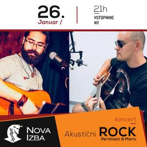 Akustični ROCK / Pertinach & Mario