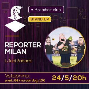 Reporter Milan - LJubi žabara