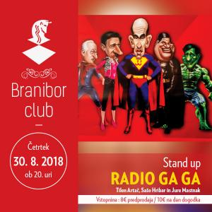 Radio Ga Ga - Stand up