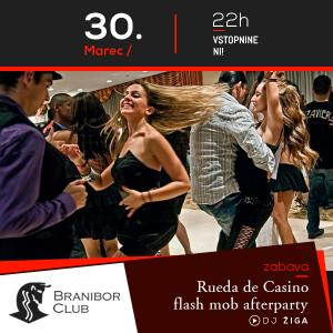 Rueda de Casino flash mob afterparty