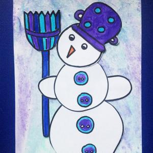 Otroška delavnica - snežak
