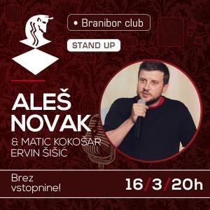 Stand up - Aleš Novak z gostoma