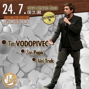 Stand up večer s Tinom Vodopivcem