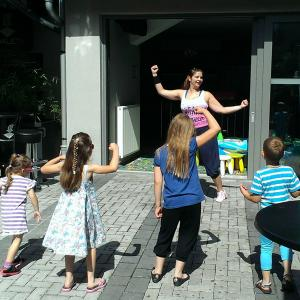 Zumba za otroke in otroška delavnica