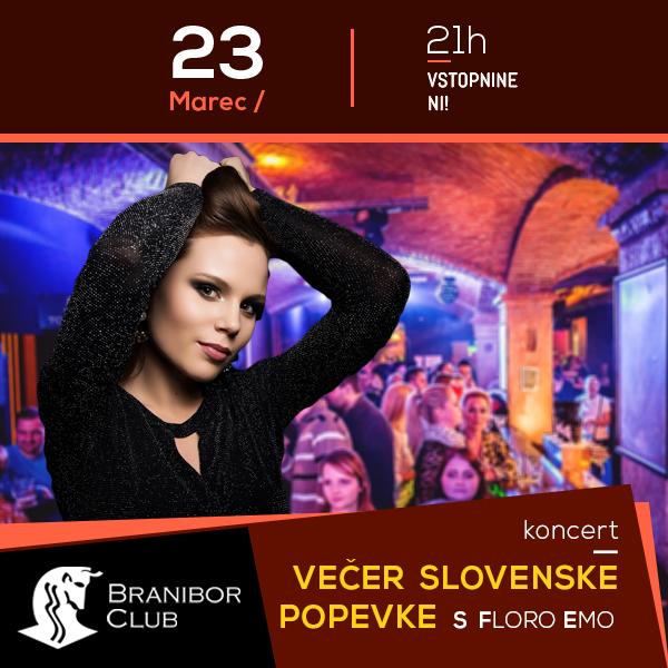 Večer slovenske popevke s Floro Emo