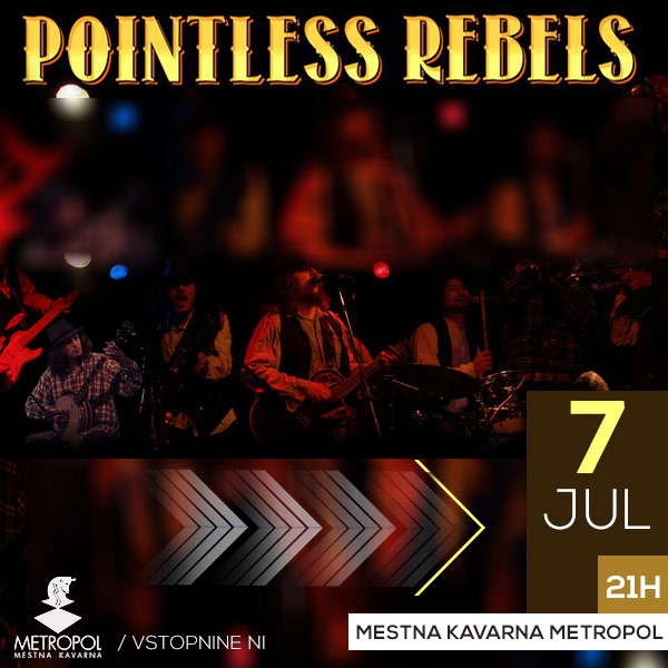 Country večer s Pointless Rebels