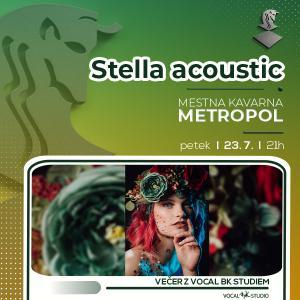 Stella acoustic - Večer z Vocal BK Studiem
